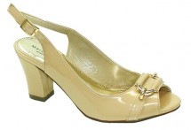 Available Colors: Nude Patent Available Size Runs: D only Minimum order: 1 pre-packed case containing 1 style and color.